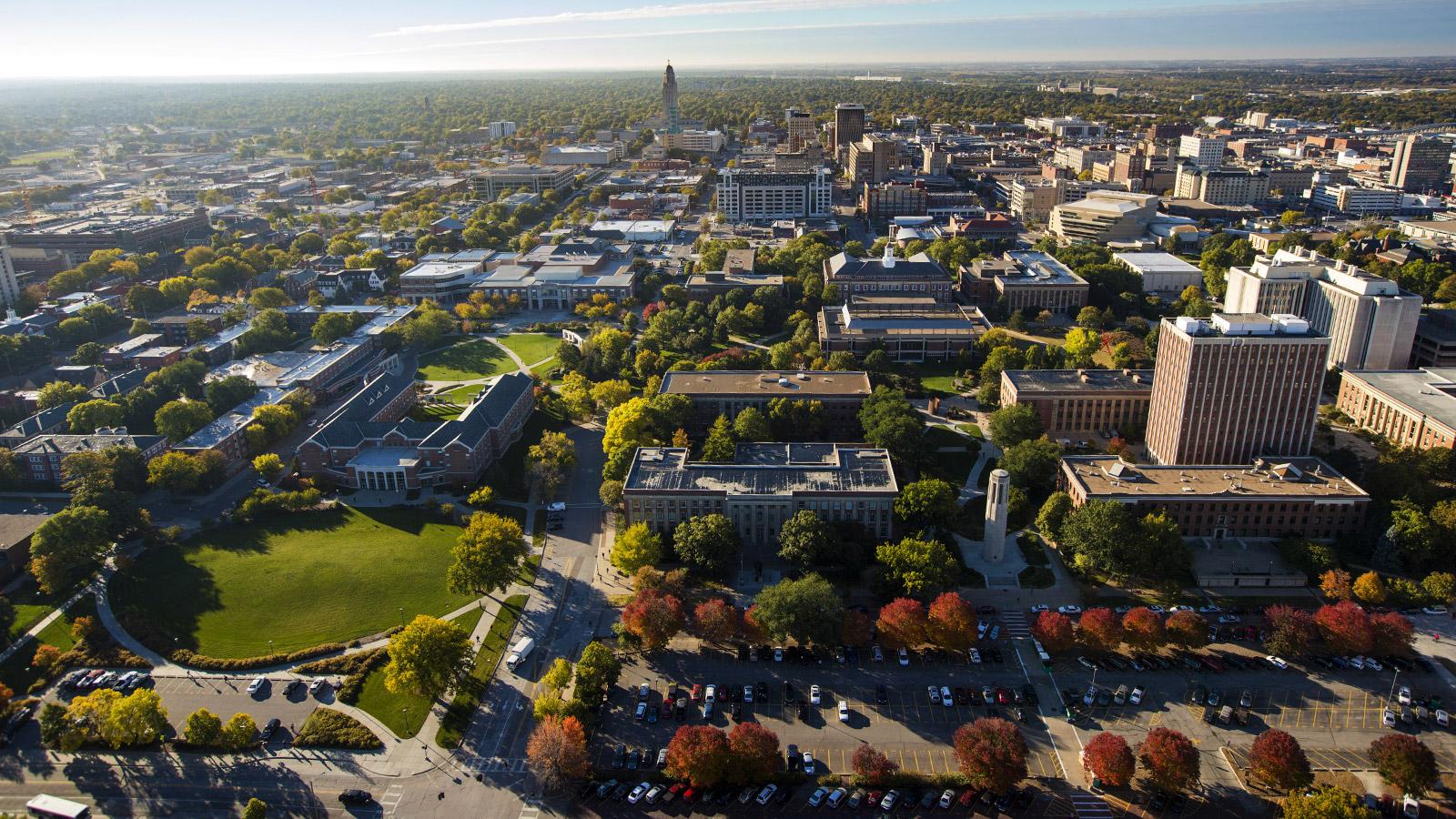View Of Nebraska Campus