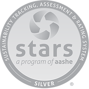 aashe silver rating for sustainability, awarded to UNL