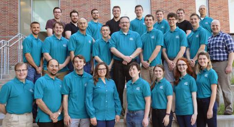 Student interns from the 2017 Partners in Pollution Prevention